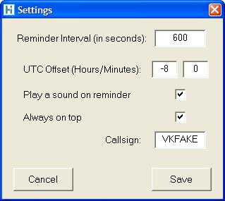 HamTime - Ham Timer countdown alarm