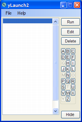 yLaunch2 full screenshot