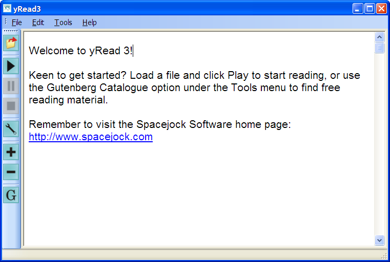 Click to view yRead3 3.0.2.2 screenshot
